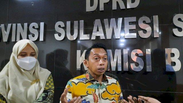 Wakil Ketua DPRD Sulsel, Syaharuddin Alrif