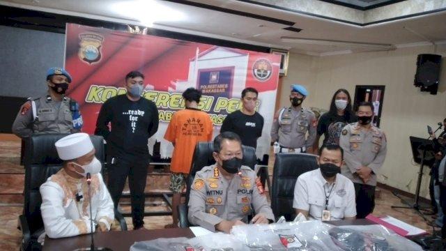 Kesal Lantaran Sering Diusir Saat Tidur, Alasan Pelaku Bakar Mimbar Masjid Raya Makassar