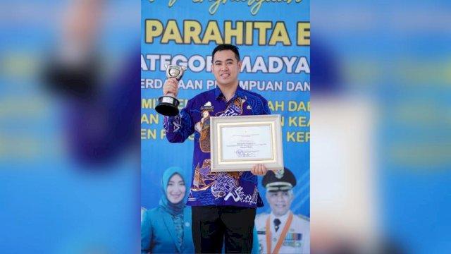 Raih Penghargaan APE dari Kementerian PPPA, Bupati Pangkep Yusran: Tahun Depan Akan Semakin Meningkat