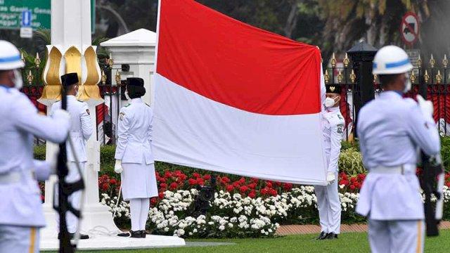 Pemkab Bantaeng Gelar Upacara HUT Kemerdekaan RI ke-76 Sesuai dengan Protokol Kesehatan