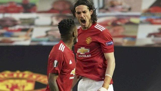 Kabar Baik! Striker MU Edinson Cavani Comeback Lawan Aston Villa Pekan Ini