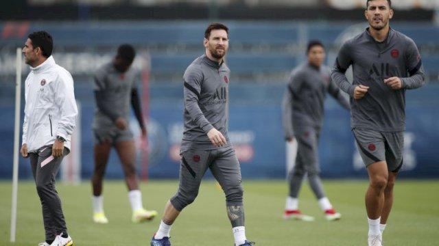 Liga Champions PSG Vs City, Lionel Messi Diragukan Bisa Main