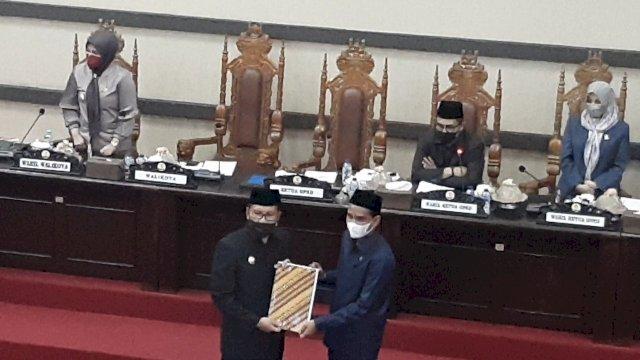 DPRD Makassar Sahkan RPJMD Tahun 2021-2026 Jadi Perda