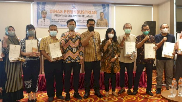 Tujuh IKM Binaan Disdag Makassar Raih Sertifikasi Halal Gratis dari Dinas Perindustrian Sulsel