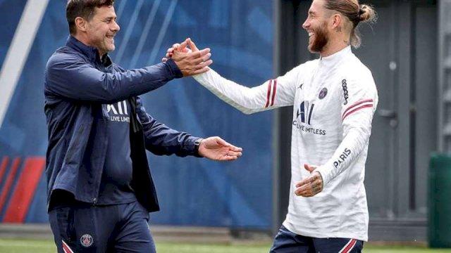 Sergio Ramos Berpeluang Lakoni Laga Perdana di PSG Akhir Pekan Nanti