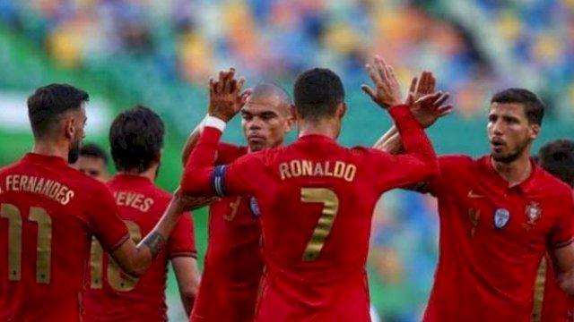 Kualifikasi Piala Dunia: Portugal Bantai Luksemburg 5-0, Cristiano Ronaldo Hattrick