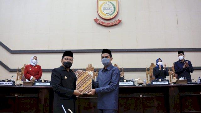 DPRD Makassar Setujui Ranperda Perubahan APBD 2021 Pemkot Makassar