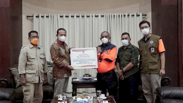 Pemkab Luwu Terima Bantuan Operasional Penanganan Bencana Banjir Bandang dari BNPB