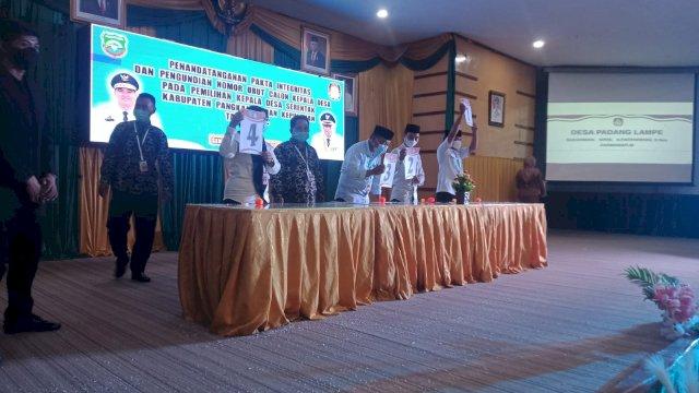 Pilkades Serentak Kabupaten Pangkep, Wabup Syahban: Kalau Tidak Mau Kalah Tinggal di Rumah Saja