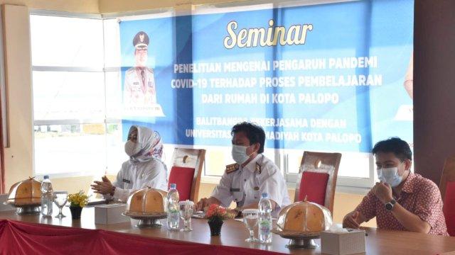 Pemkot Palopo Kaji Pengaruh Pandemi Covid-19 Terhadap Pembelajaran dari Rumah