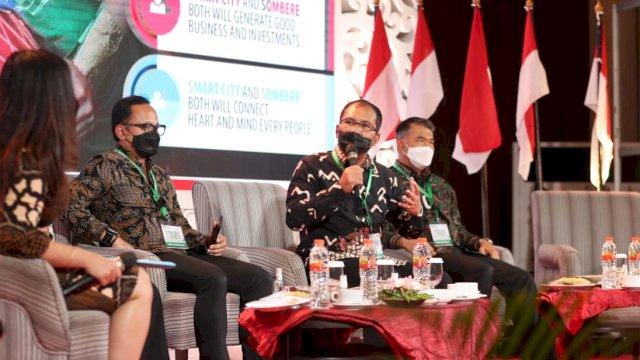Didaulat Jadi Pembicara, Danny Pomanto Sebut Smart City Solusi di Tengah Pandemi