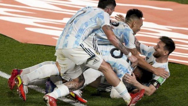 Kualifikasi Piala Dunia 2022, Argentina Kalahkan Peru 1-0