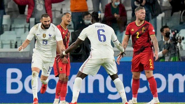 Singkirkan Belgia Secara Dramatis, Prancis Hadapi Spanyol di Final UEFA Nations League