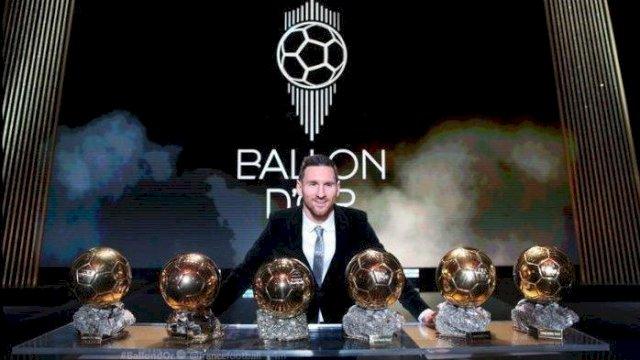 Ballon d'or, Lionel Messi Jagokan Mbappe dan Neymar